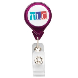 PhotoVision Teardrop Badge Holder for Marketing