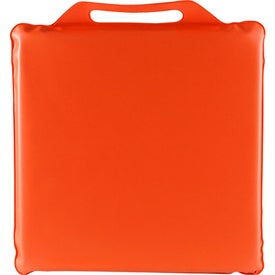 "Phthalate-free 14"" x 1"" Stadium Cushion for Your Company"