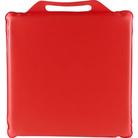 "Phthalate-free 14"" x 1"" Stadium Cushion Branded with Your Logo"