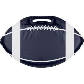 Imprinted Phthalate Free Football Stadium Cushion