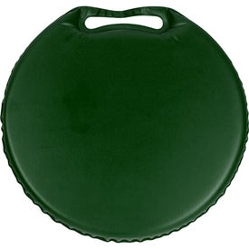 Imprinted Phthalate-free Round Stadium Cushion
