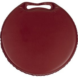 Phthalate-free Round Stadium Cushion Imprinted with Your Logo