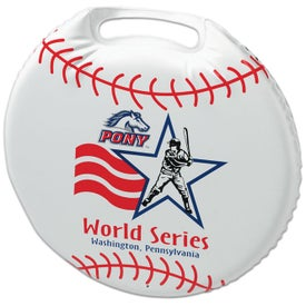 Personalized Phthalate-free Round Stadium Cushion
