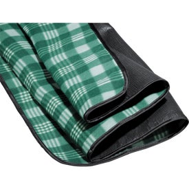 Monogrammed Picnic Blanket with Bag