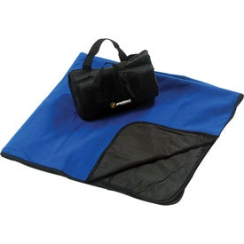 Fleece Picnic Blanket Imprinted with Your Logo