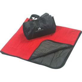 Fleece Picnic Blanket with Your Logo