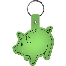 Piggy Bank Key Tag Giveaways
