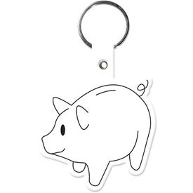 Piggy Bank Key Tag for your School