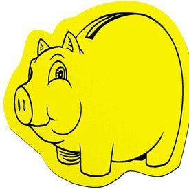 Imprinted Piggy Jar Opener