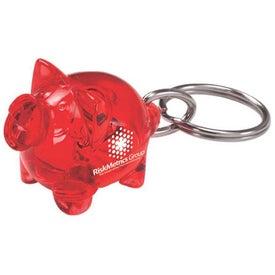 Piggy Keychain for Advertising