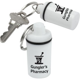 Pill Container Keytags