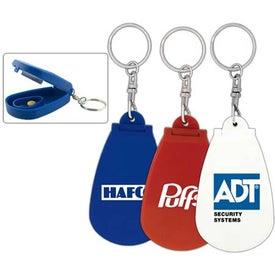 Pill Cutter Keychain