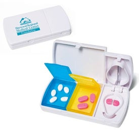 Pill Cutter with Pill Cases
