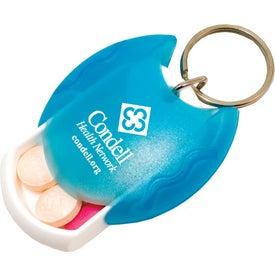 Pill Dispenser Keytag Giveaways