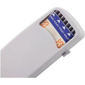 Logo Pill Box and Bandage Dispenser Combination