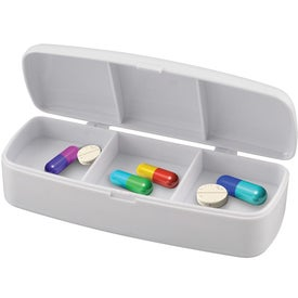 Promotional Pill Box and Bandage Dispenser Combination