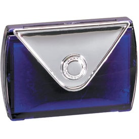 Imprinted Pill Box with Mirror