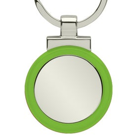 Personalized Pista II Keyring