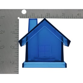 Imprinted Plastic House Shape Bank