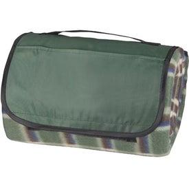 Branded Plaid Picnic Blanket