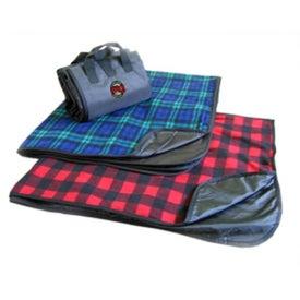 Plaid Fleece Picnic Blanket