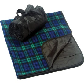 Plaid Fleece Picnic Blanket for your School