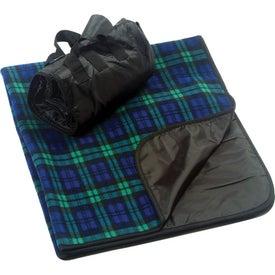 Plaid Fleece Picnic Blanket for your School