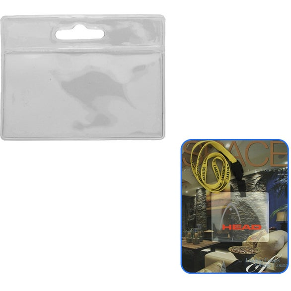 Clear ID/Badge Holder