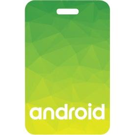 "Plastic Identification Badge (3-1/2"" x 2-1/4"")"