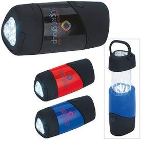 Branded Lantern Flashlight