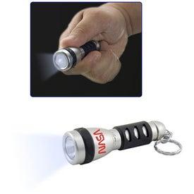 Branded The Viper Flashlight Key Chain