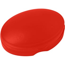 Compact Oval Pill Box Branded with Your Logo