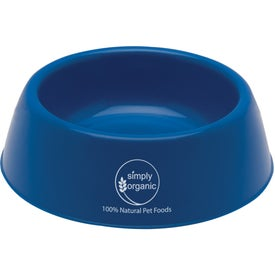 Logo Plastic Pet Bowl