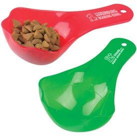 Advertising Plastic Pet Food Scoop