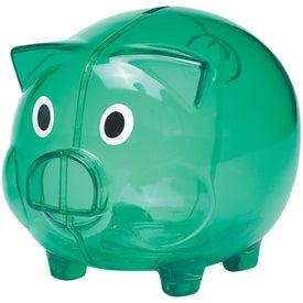 Advertising Plastic Piggy Bank