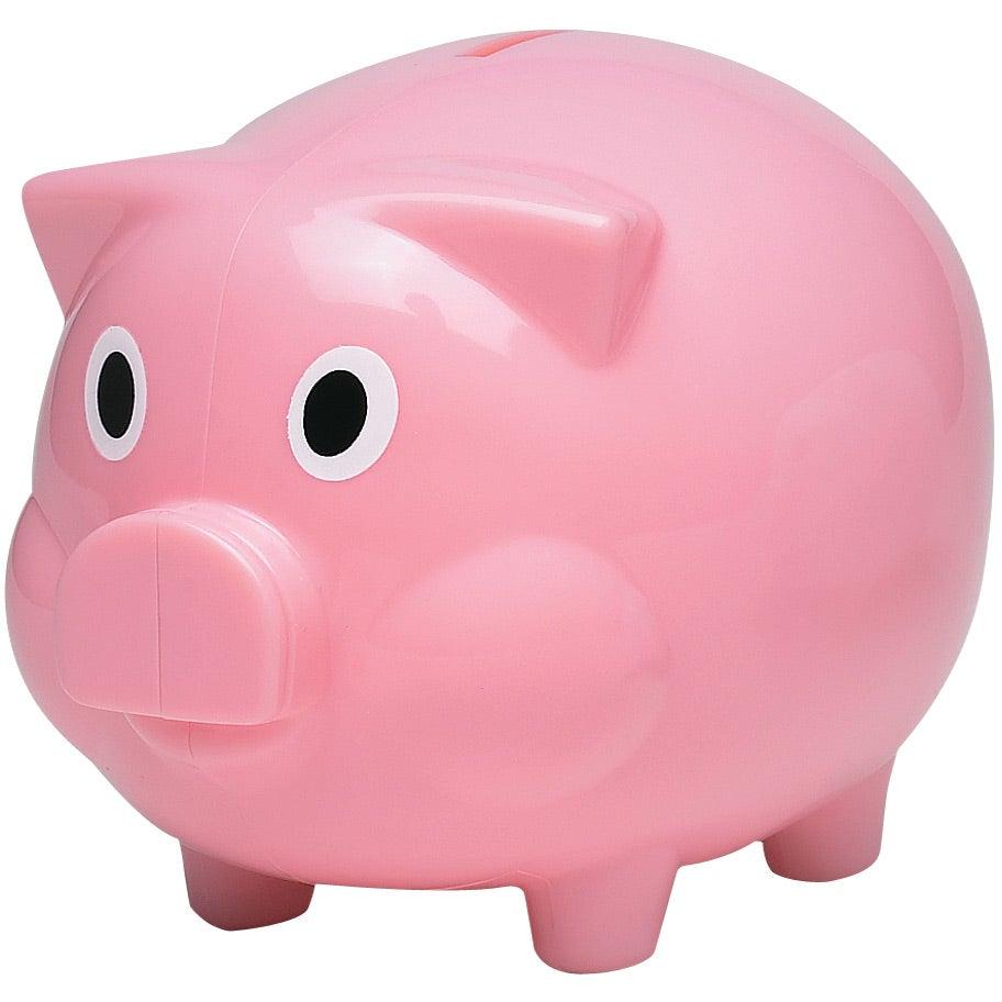 promotional plastic piggy banks with custom logo for 2 11 ea