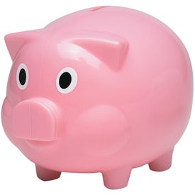 Personalized Plastic Piggy Bank