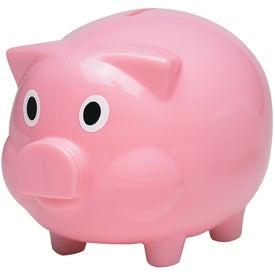 Personalized Plastic Piggy Bank