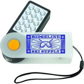 Company Plastic Sliding Flashlight