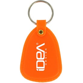 Plastic Tuff Tag Imprinted with Your Logo