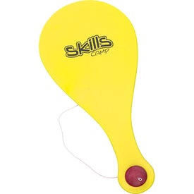 Company Plastic Paddle Ball Game