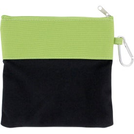 Playful Dog Pouch Imprinted with Your Logo