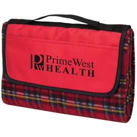 Playful Plaid Picnic Blanket with Your Logo