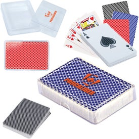 Playing Cards in Case with Your Logo