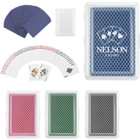 Imprinted Playing Cards with Case