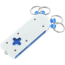 Custom Plus Light Keychain