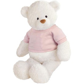 Plush Baby Bear (White)