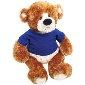 Plush Bear with Your Slogan
