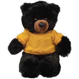 Plush Black Bear Buster