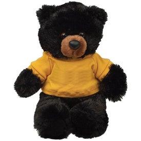 Plush Black Bear Buster